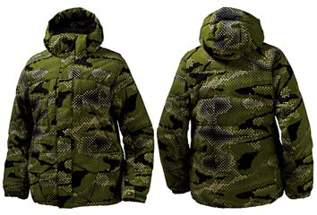 КУРТКА-ПУХОВИК Burton  DOWN JACKET_print kryptonite glamo_M