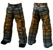 ШТАНЫ Burton Shaun White Asym Pant_Roasted Brown SW Faded Plaid