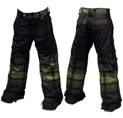ШТАНЫ Burton Shaun White Asym Pant_Kryptonite SW Faded Plaid