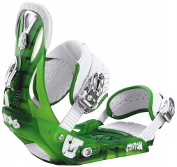 КРЕПЛЕНИЯ Burton CUSTOM frosted green