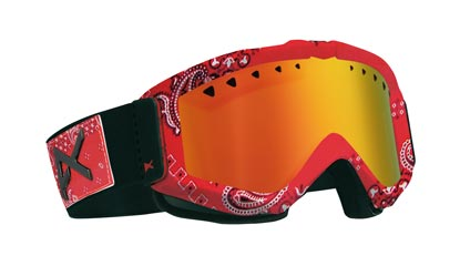 Маска Anon Figment Goggle Skin_Bandit_Red Mirror