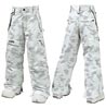 Штаны Burton Girls Cargo Pant_Rock Salt Bitmap Print