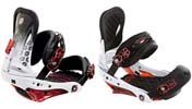 Крепления Burton P1 white/black/red