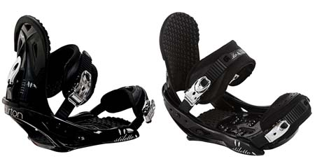 Крепления Burton STILETTO black