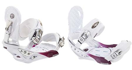 Крепления Burton ESCAPADE white/purple