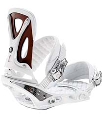 Крепления Burton C60 white/cherry wood