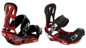 Крепления Burton CARTEL red metallic
