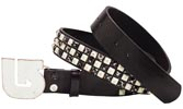 РЕМЕНЬ м. Burton STUDDED BELT domino