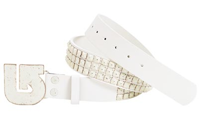 РЕМЕНЬ м. Burton STUDDED BELT rock salt